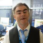Tony working at the Royal Liverpool University Hospital
