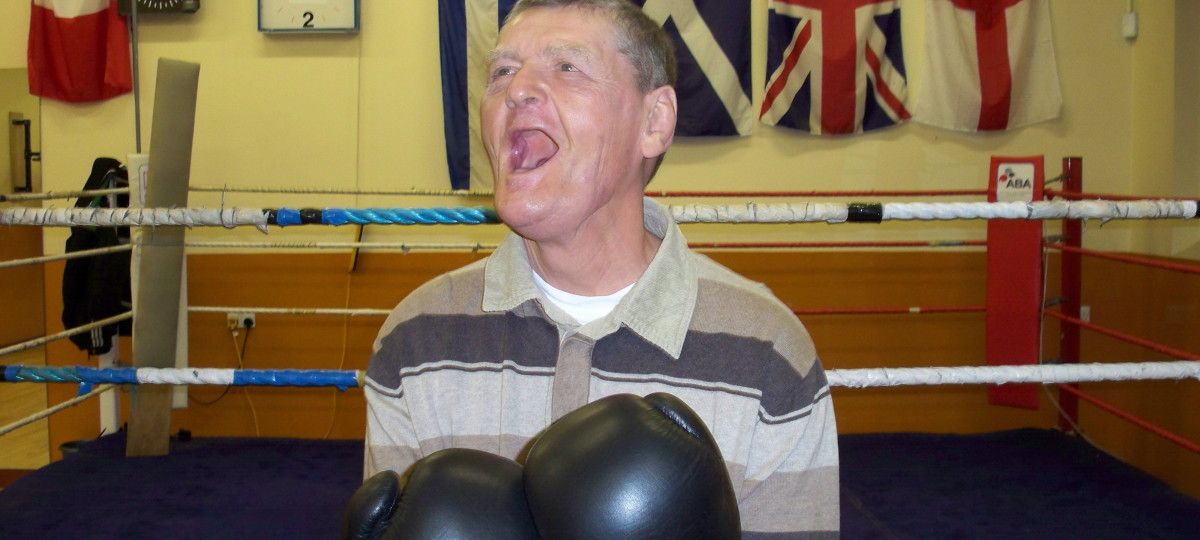 Peter at boxing