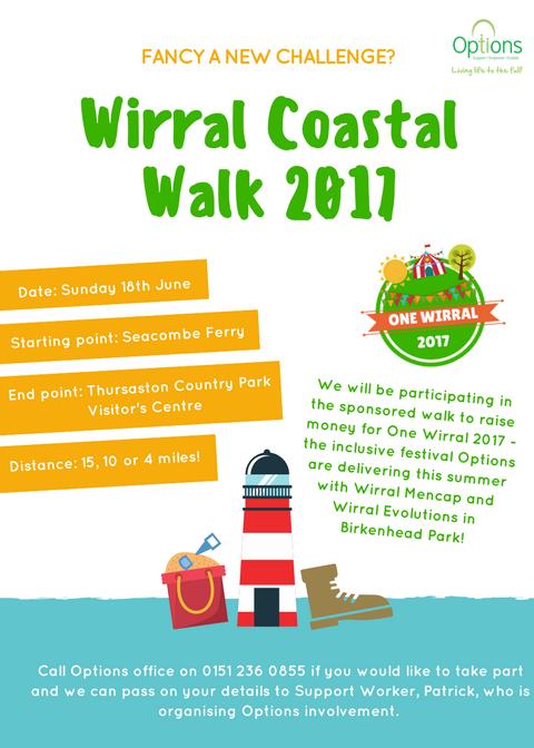 Wirral Coastal Walk 2017